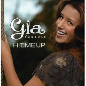 Hit Me Up (Gia Farrell song) - Image: Gia Farrell Hit Me Up (Australia CD)