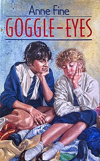 <i>Goggle-Eyes</i> novel by Anne Fine
