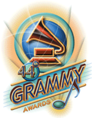 44th Annual Grammy Awards - Image: Grammylogo 44