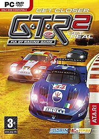 GTR 2 - FIA GT Racing Game european cover