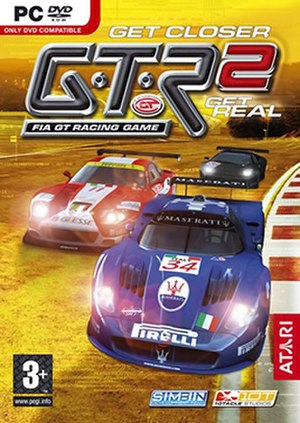 GTR 2 – FIA GT Racing Game - European cover art