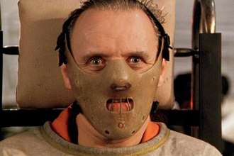 Hannibal Lecter - Anthony Hopkins as Lecter in 1991's The Silence of the Lambs