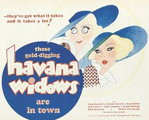 Havana Widows - Movie poster