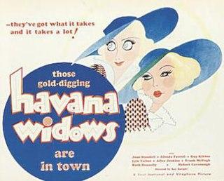 <i>Havana Widows</i> 1933 film