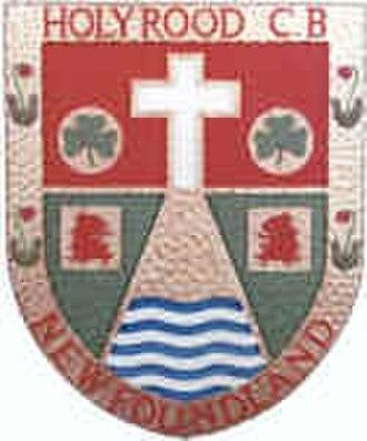 Holyrood, Newfoundland and Labrador - Image: Holyrood crest