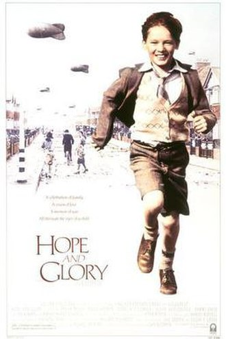Hope and Glory (film) - Theatrical release poster