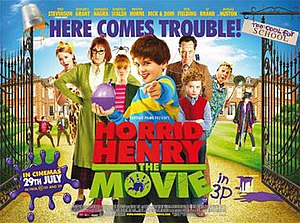 Horrid Henry: The Movie - United Kingdom theatrical release poster