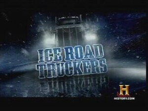Ice Road Truckers - Image: Iceroadtruckerslogo