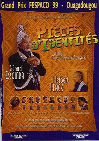 Identity Pieces - Movie poster
