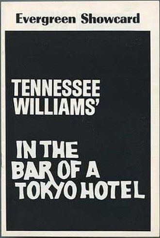 In the Bar of a Tokyo Hotel - First production program