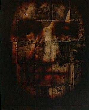 "Greg Edmonson (artist) - ""Indefinite Divisibility"", 63x51"" (1996)"
