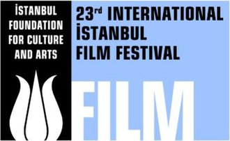International Istanbul Film Festival - Istanbul International Film Festival 23rd edition logo