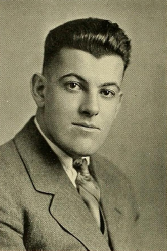 Joe McKenney - McKenney pictured in Sub Turri 1927, Boston College yearbook