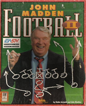 John Madden Football II - Image: John Madden Football II Coverart