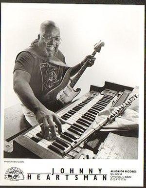 Johnny Heartsman - Heartsman in 1991