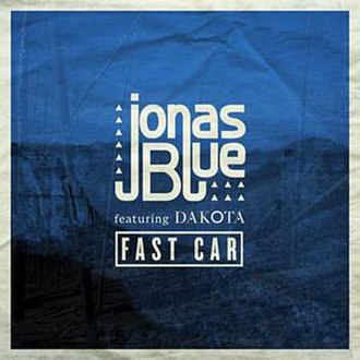Jonas Blue featuring Dakota — Fast Car (studio acapella)