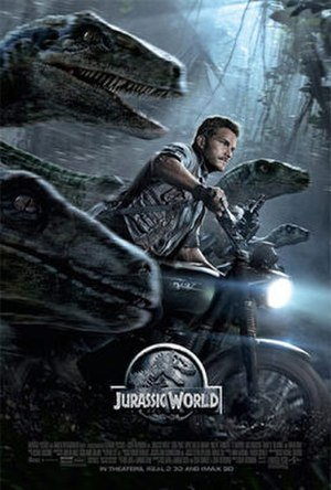Jurassic World - U.S. theatrical release poster