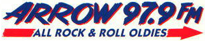 KBFB - Arrow 97.9 logo used 1993-1997.