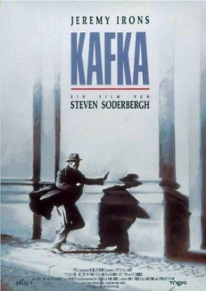 Kafka (film) - Theatrical release poster