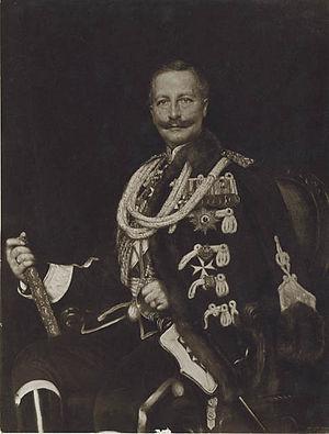 Adolfo Müller-Ury - Müller-Ury's 1909 portrait of Kaiser Wilhelm II