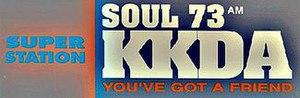 KKDA (AM) - Soul 73 logo used until mid-2012.