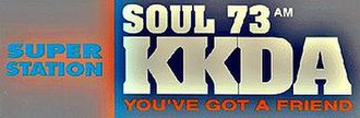 KKDA (AM) - Soul 73 logo used until mid-2012.