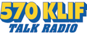 KLIF (AM) - 570 KLIF logo used during its early news/talk era.