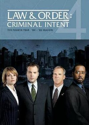 Law & Order: Criminal Intent (season 4) - Image: Law And Order CI S4