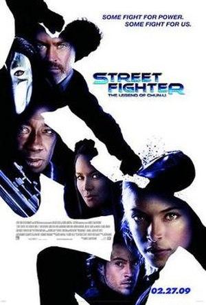 Street Fighter: The Legend of Chun-Li - Promotional film poster