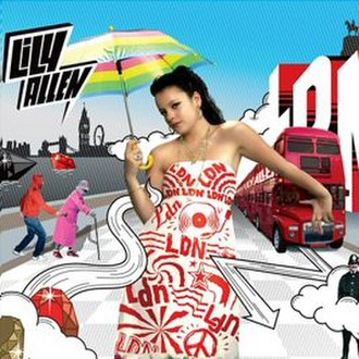 LDN (song) - Image: Lily Allen LD Nsingle