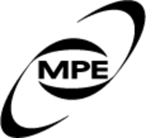 Max Planck Institute for Extraterrestrial Physics - Image: Logo mpe bw