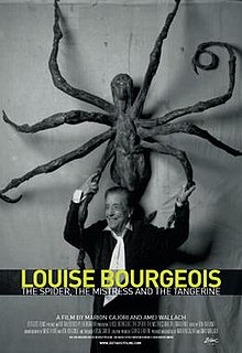 <i>Louise Bourgeois: The Spider, the Mistress, and the Tangerine</i> 2008 American film