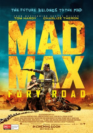 Mad Max: Fury Road - Theatrical release poster