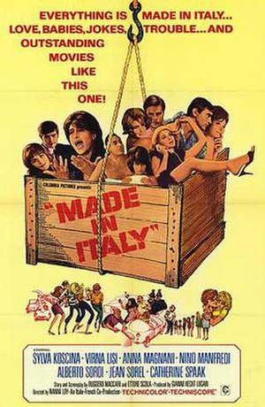 Made in Italy (film) - Image: Made in italy pos