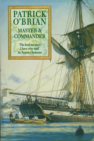 Master and Commander - Geoff Hunt cover used on reissues