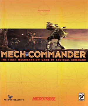 MechCommander - Image: Mech Commander Coverart