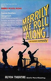 <i>Merrily We Roll Along</i> (musical) 1982 musical