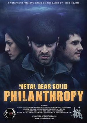 Metal Gear Solid: Philanthropy - Image: Metal Gear Solid, Philanthropy poster