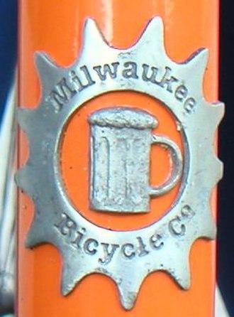 Milwaukee Bicycle Co. - Milwaukee Bicycle Co. head badge.