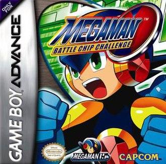 Mega Man Battle Chip Challenge - North American box art