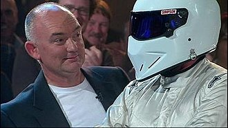 Top Gear Australia - Season 2 presenter James Morrison and The Stig.