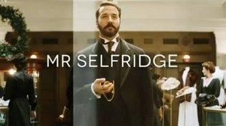 Mr Selfridge - Image: Mr Selfridge titlecard
