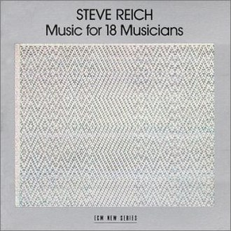 Music for 18 Musicians - Image: Musicfor 18cover