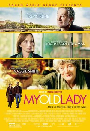 My Old Lady (film) - US theatrical poster