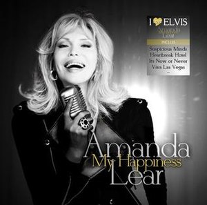 My Happiness (album) - Image: My happiness by amanda lear