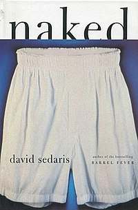 Book cover, Naked by David Sedaris