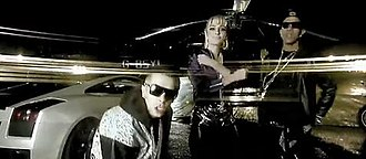 """I Need You (N-Dubz song) - N-Dubz on the roof in the music video for """"I Need You"""""""