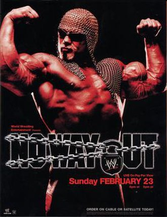 No Way Out (2003) - Promotional poster featuring Scott Steiner