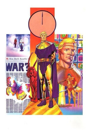 Ozymandias (comics) - Ozymandias. Art by Dave Gibbons.