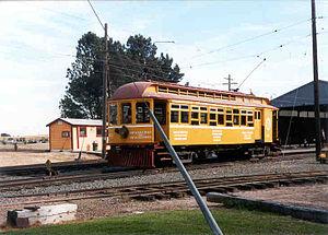 Petaluma and Santa Rosa Railroad - Image: Petaluma Santa Rosa At WRM
